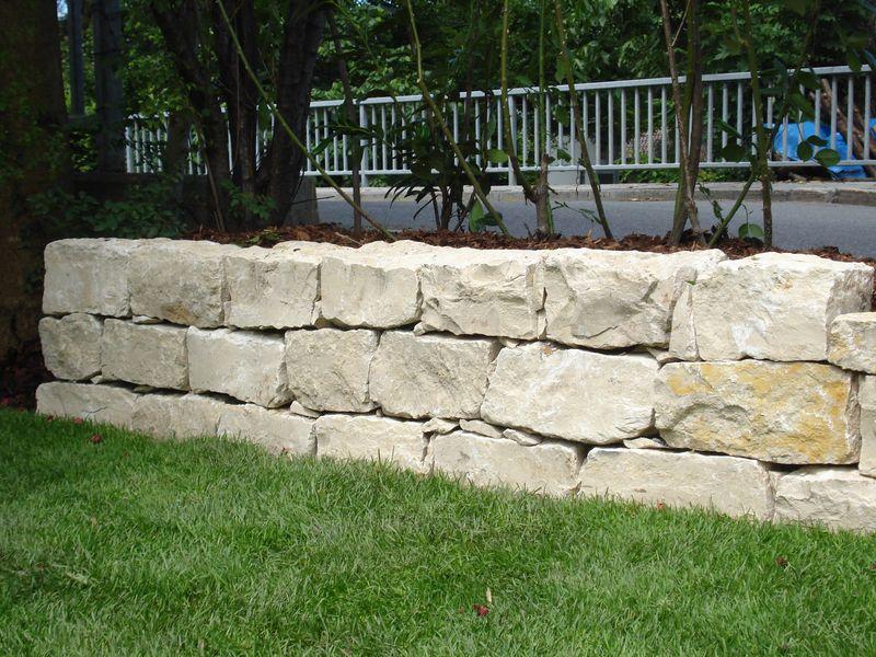 Steinmauer Jura Marmor